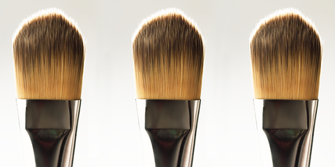 Hairstyle, Brush, Hair accessory, Beige, Makeup brushes, Paint brush, Costume accessory, Personal care, Natural material, Wig,