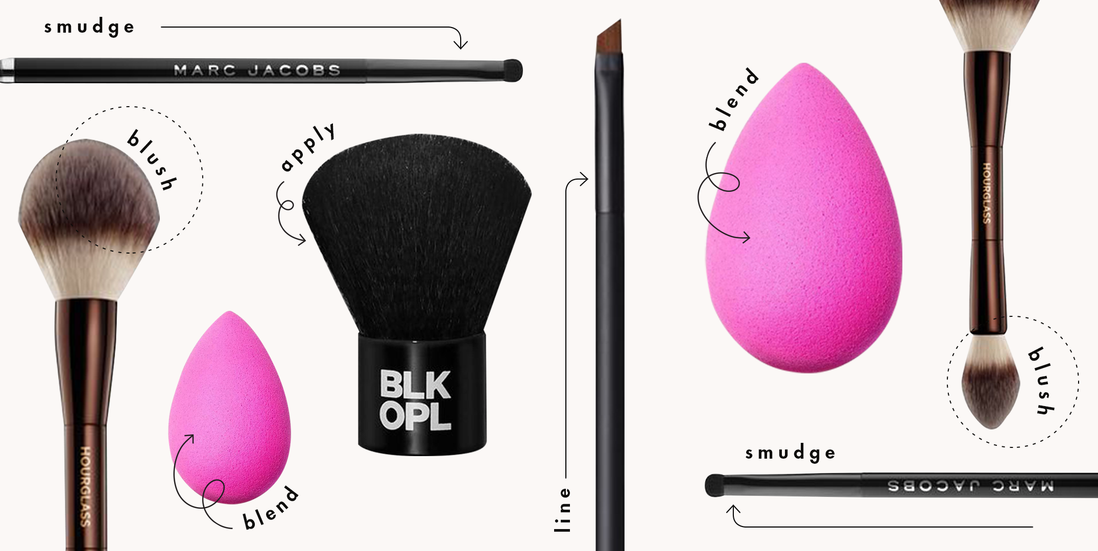 Guide To The Types Of Makeup Brushes And How To Use Them In 2021