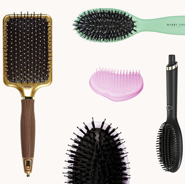 13 Best Hair Brushes Of 2021 For Every Hair Type