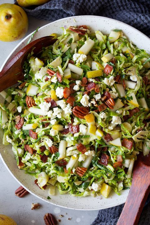brussels sprout salad bacon