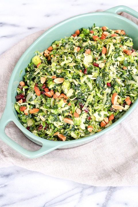 brussels sprouts salad kale
