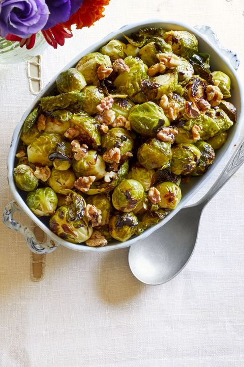 brussels sprouts recipes balsamic reduction and walnuts