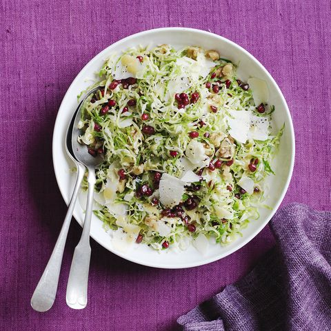 Brussels Sprouts with Red Wine Vinaigrette