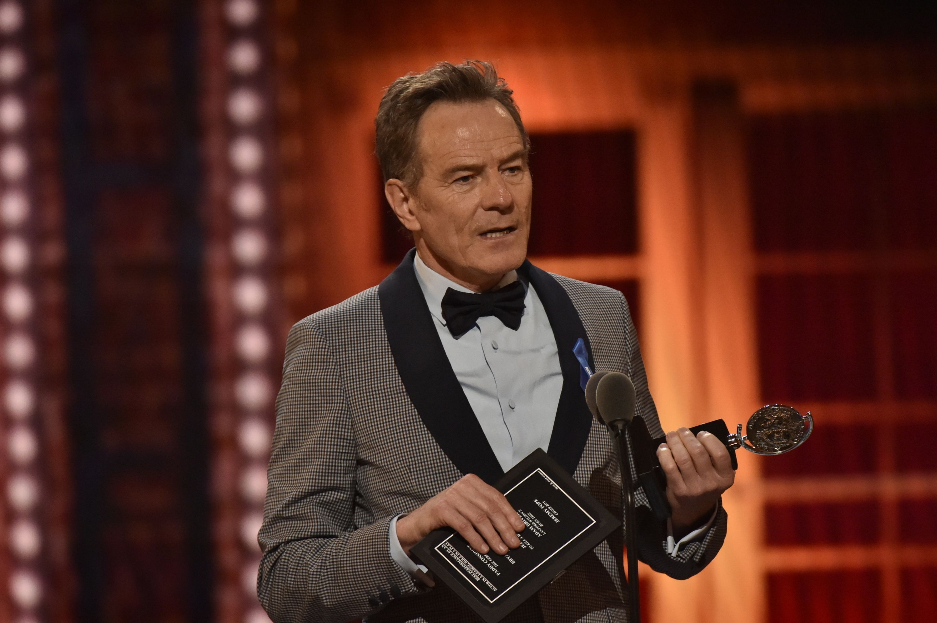 Bryan Cranston's Tonys Speech Calling Trump's 'Demagoguery' the 'Enemy of the People' Is Required Viewing