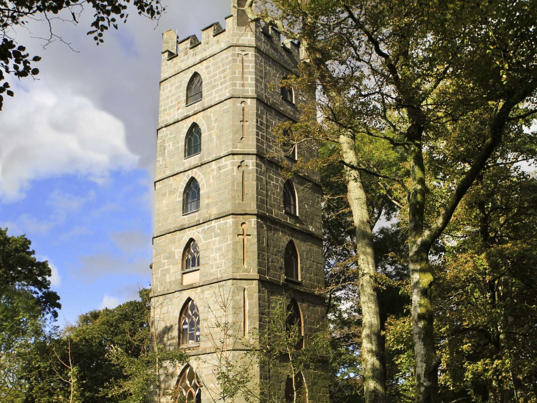 You can now stay in a real-life Rapunzel tower in Snowdonia