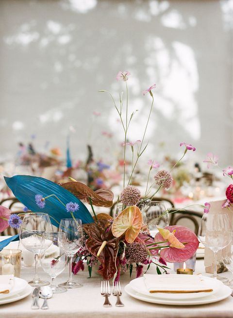 Centrepiece, Photograph, Decoration, Flower, Pink, Flower Arranging, Rehearsal dinner, Turquoise, Floristry, Floral design,