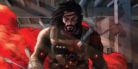 portada del volumen 1 del cómic 'brzrkr'