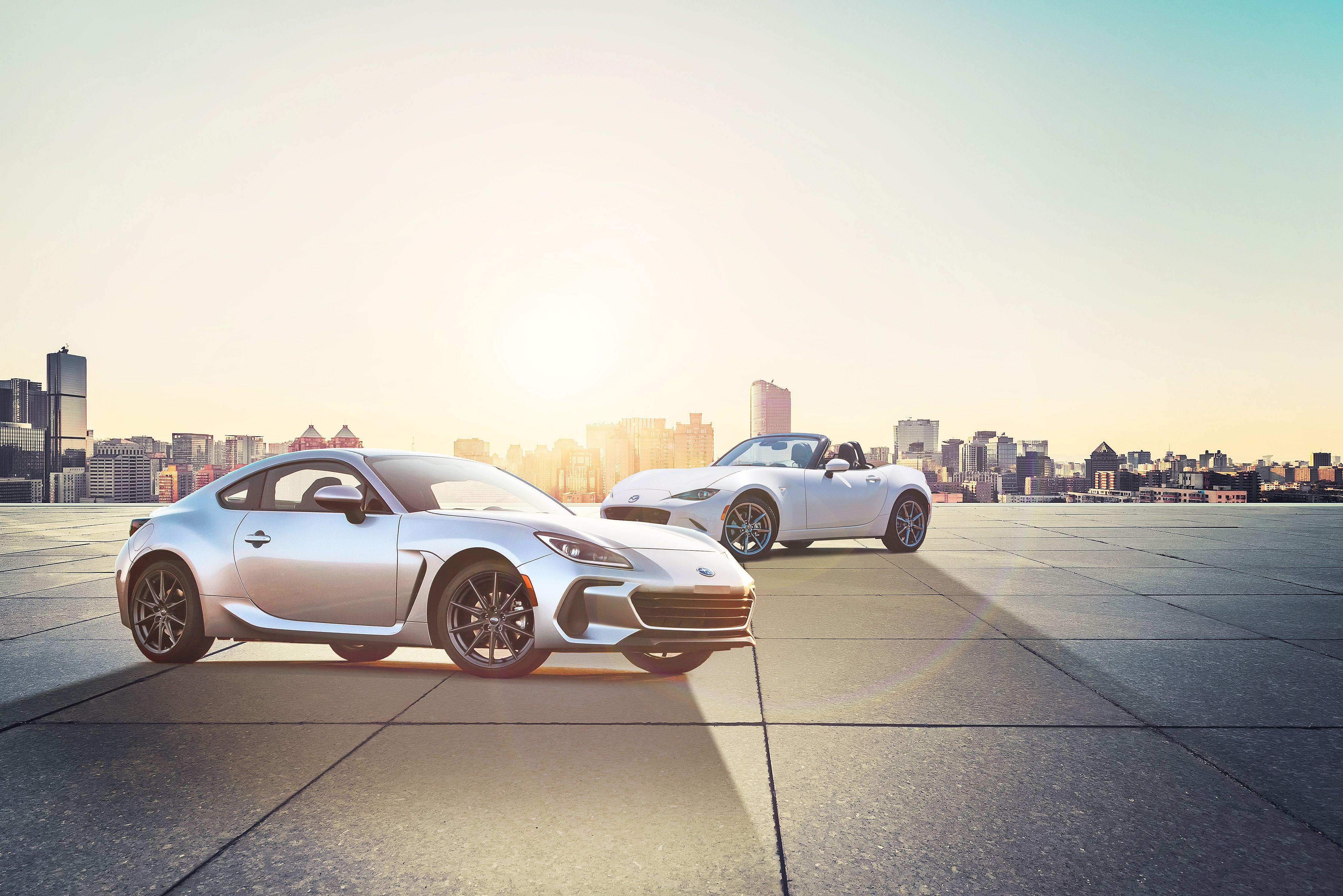 4 Subaru BRZ vs. Mazda Miata: How the Sports Cars Stack Up