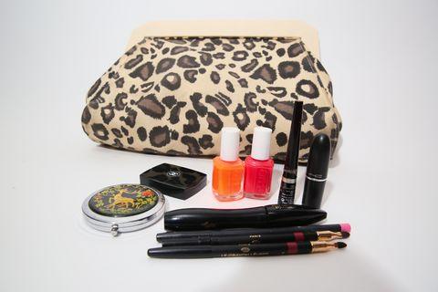 Lipstick, Cosmetics, Beauty, Mascara, Material property, Eye liner, Lip gloss, Handbag,
