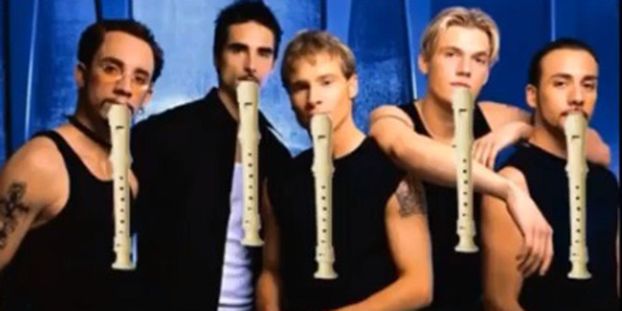 Shitty Flute Backstreet Boys Instagram