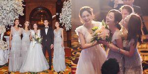 婚禮,伴娘團,阿嬌,結婚,容祖兒,阿SA,穿搭