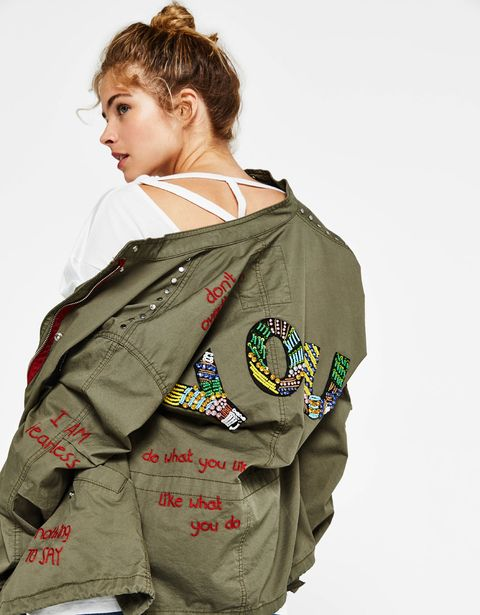 Clothing, Khaki, Outerwear, Jacket, Sleeve, Uniform, Scout, Military uniform, Camouflage,