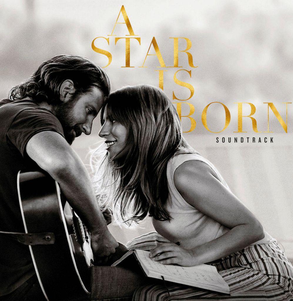 """CD BANDA SONORA""""A Star Is Born"""" con Bradley Cooper y Lady Gaga"""