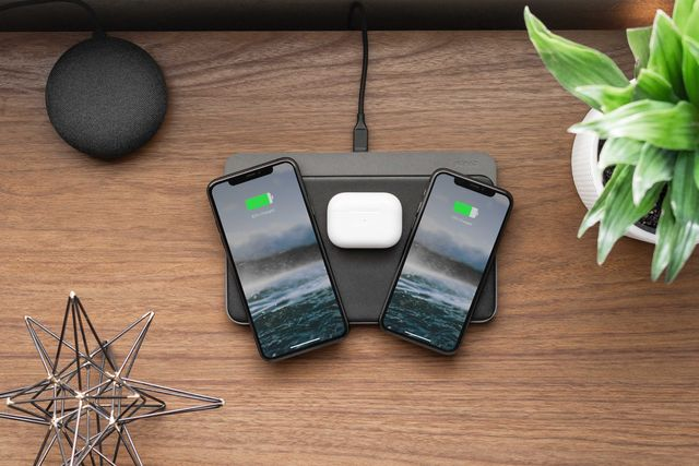a nomad base station pro wireless charger