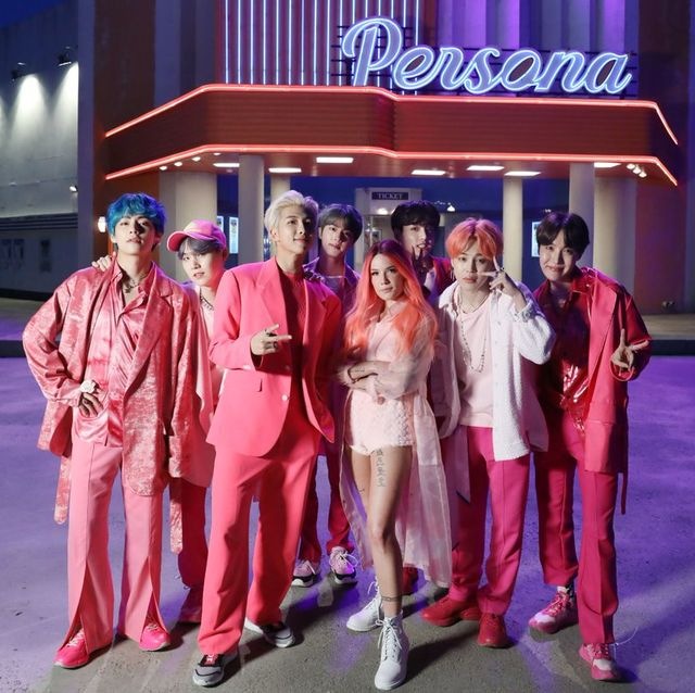 BTS and Halsey 'Boy With Luv' Lyrics in English - New BTS and Halsey Music Video