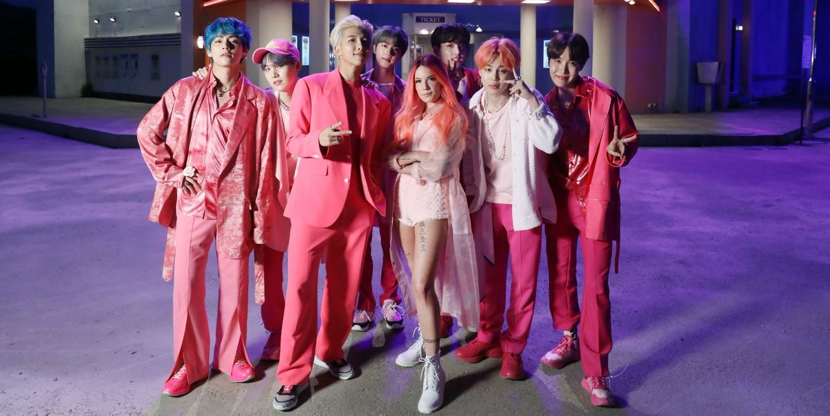 Bts And Halsey Boy With Luv Lyrics In English New Bts And