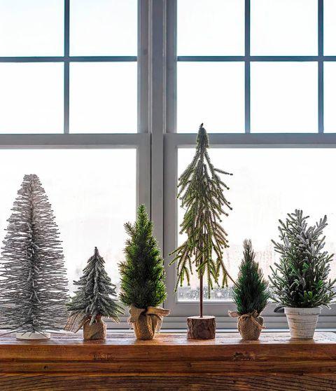 Árboles de Navidad de sobremesa de El Corte Inglés