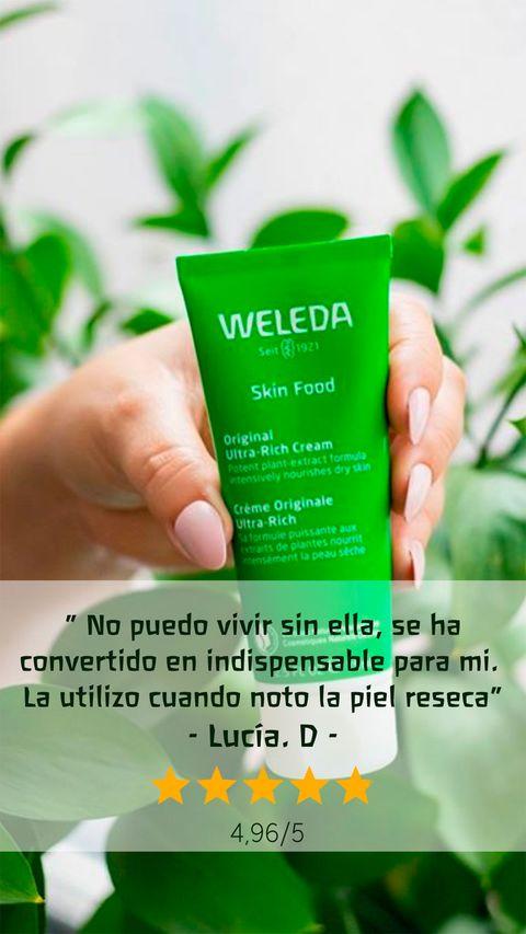 envase de weleda skin food