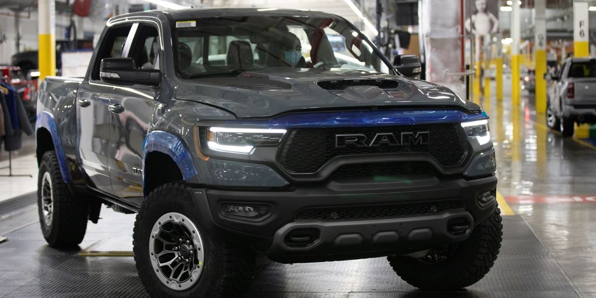 2021 Ram 1500 TRX VIN #001 Launch Edition to Be Auctioned for Charity