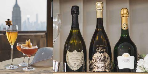 Alcoholic beverage, Drink, Champagne, Wine, Alcohol, Glass bottle, Bottle, Distilled beverage, Liqueur, Wine bottle,