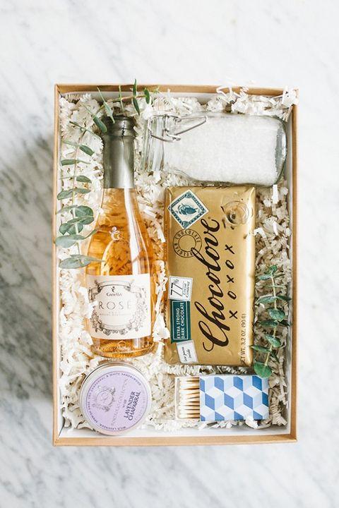 diy bubble bath gift box christmas gifts
