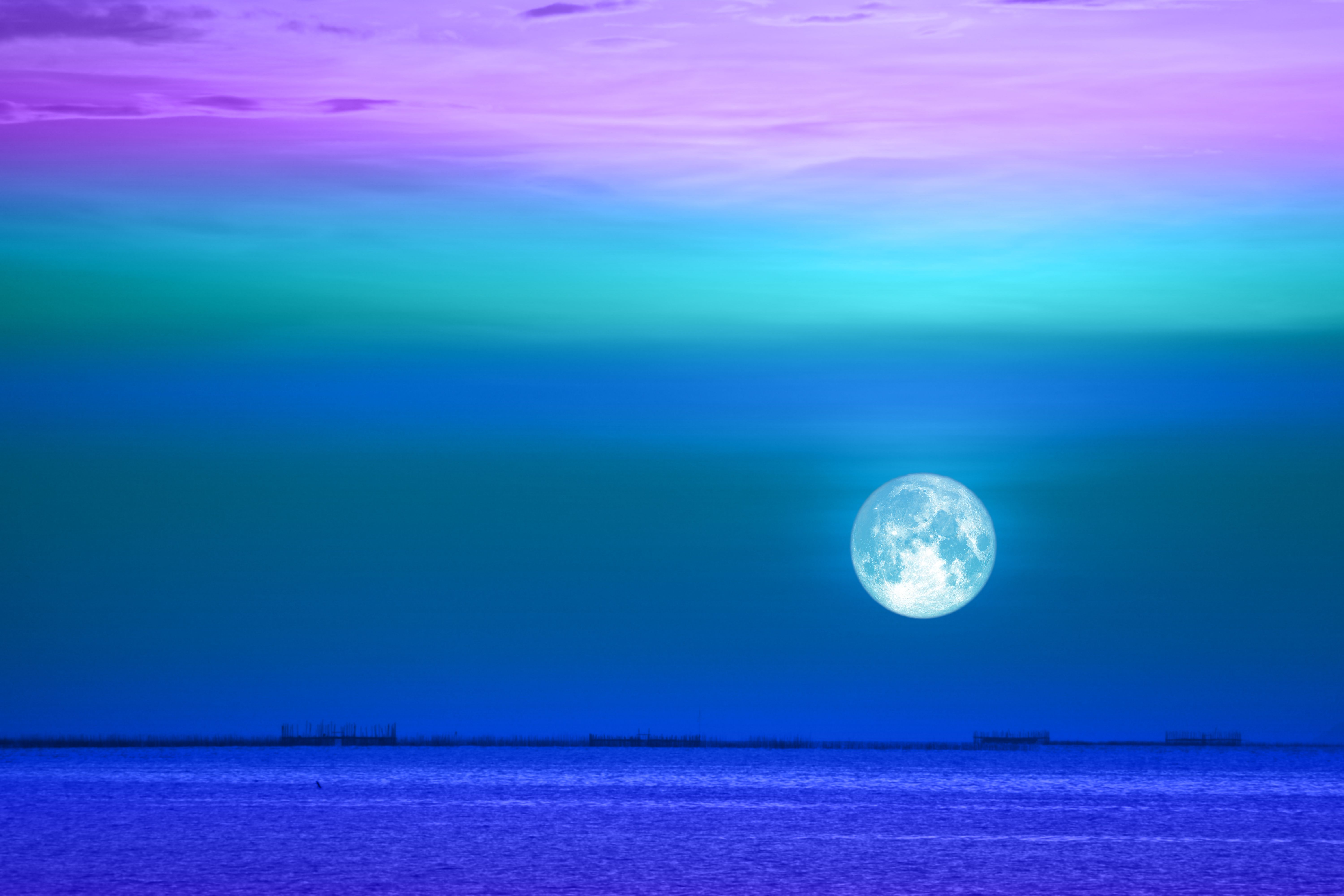 What August's Full Sturgeon Moon in Aquarius Means For Your Sign