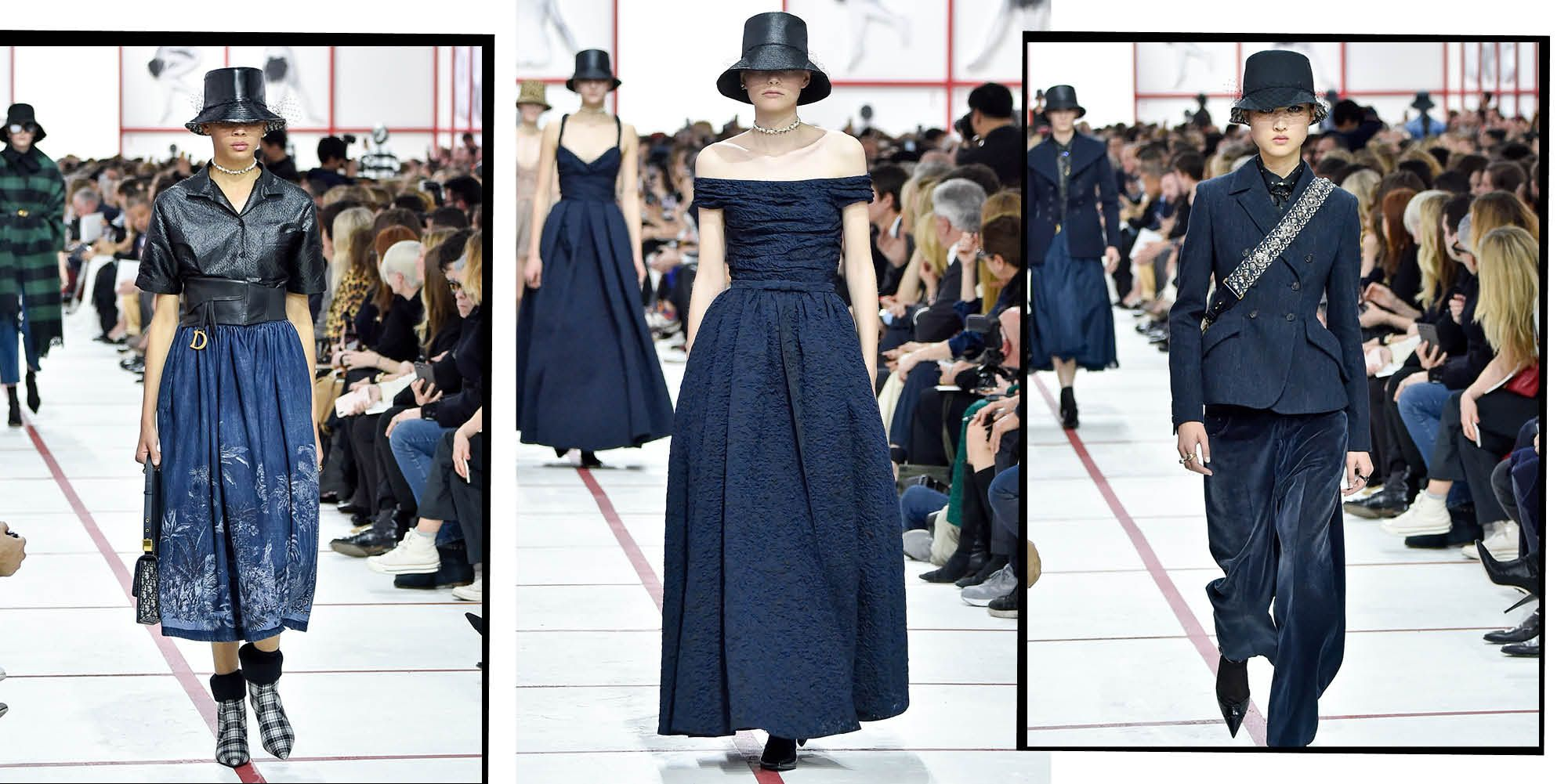 dccf70b52d0 Dior AW19 Declared Bucket Hats As This Seasons  Biggest Comeback Trend
