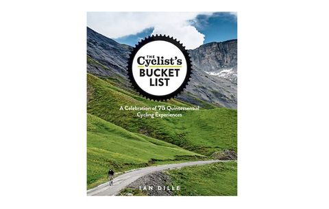cyclists bucket list book
