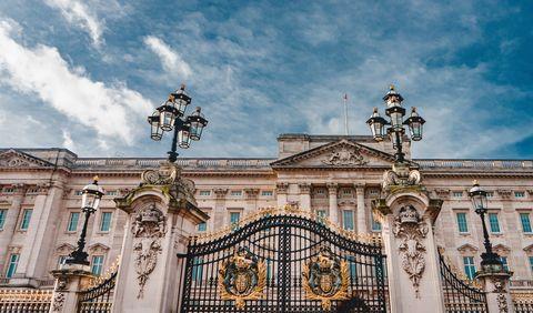 Buckingham Palace in Londen via Unsplash
