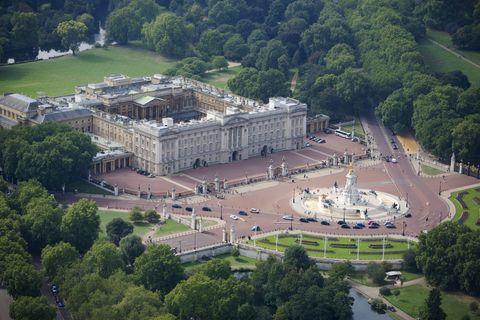 buckingham palace most expensive house veranda