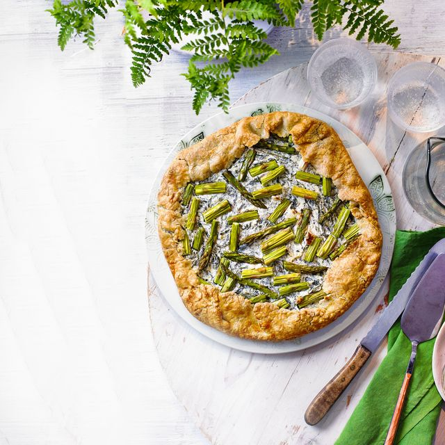 buckwheat and greens galette