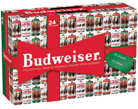 Budwizer Christmas Ad 2020 Budweiser Is Coming Out With 4 Limited Edition Holiday Cans