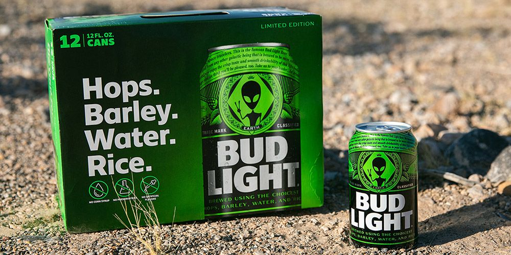 Bud Light Released Area 51-Inspired Cans, So Get Ready To 'See Them Aliens'