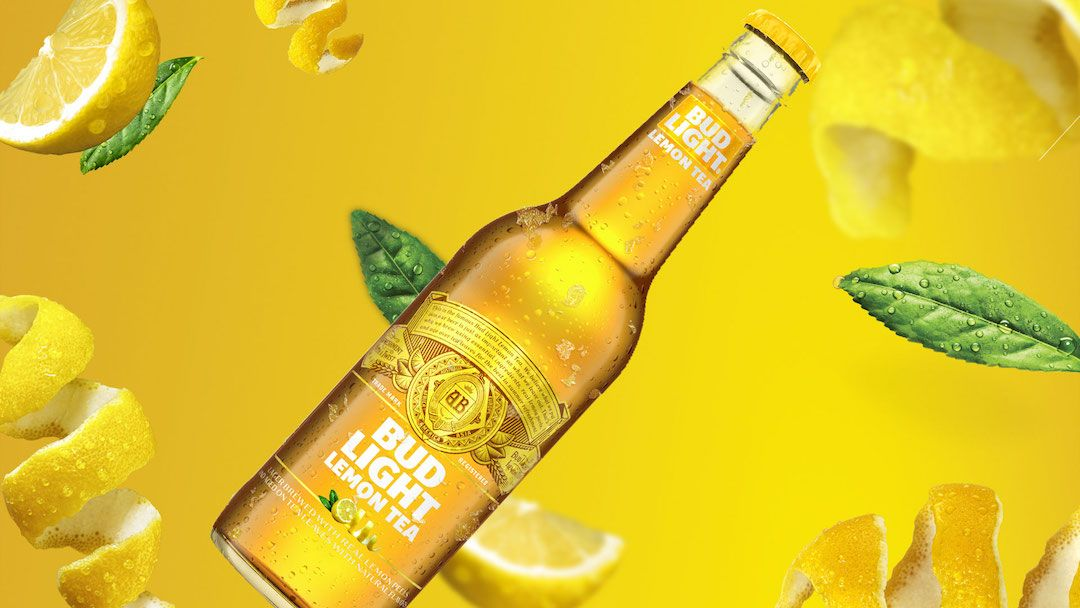 Anheuser-Busch Launches Bud Light Lemon Tea And Twitter Is Already Obsessed