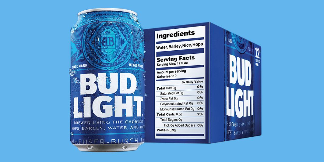Bud Light S New Nutrition Labels Mark A New Era For Beer