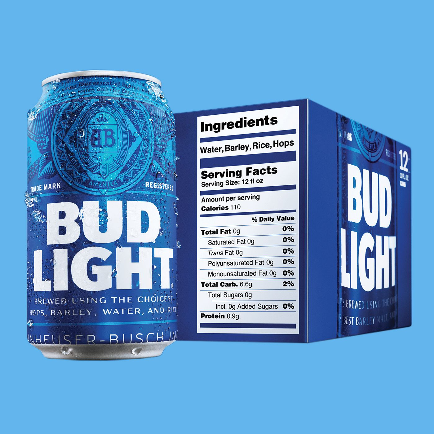 Bud Light's New Nutrition Labels Mark a