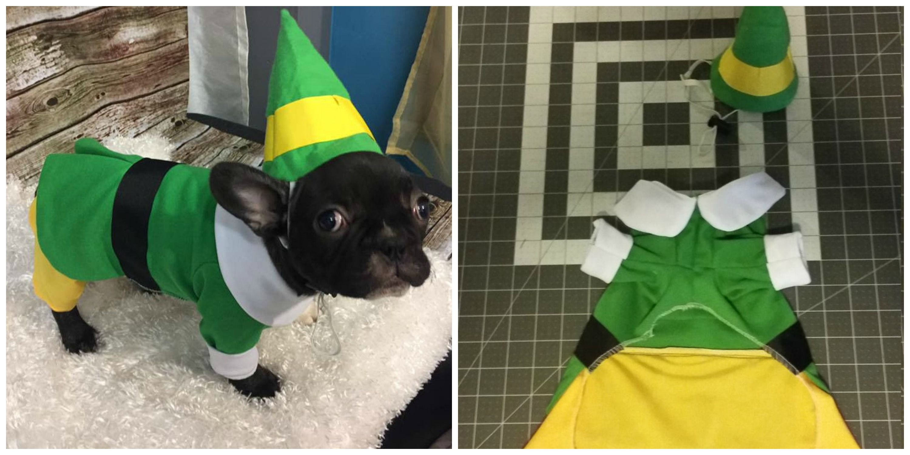 You Can Dress Up Your Dog In a Buddy the Elf Costume Thanks To Etsy