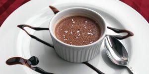 Chocolate Budino with 300x150