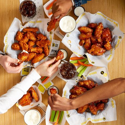 Dish, Food, Cuisine, Fried food, Meal, Ingredient, Chicken meat, Buffalo wing, Junk food, Produce,