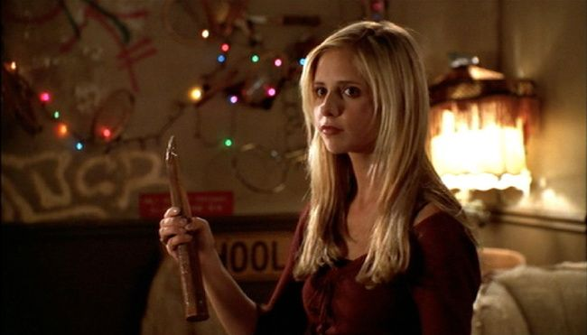 The Big Bang Theory y Buffy Cazavampiros - Sarah Michelle Gellar Cameo