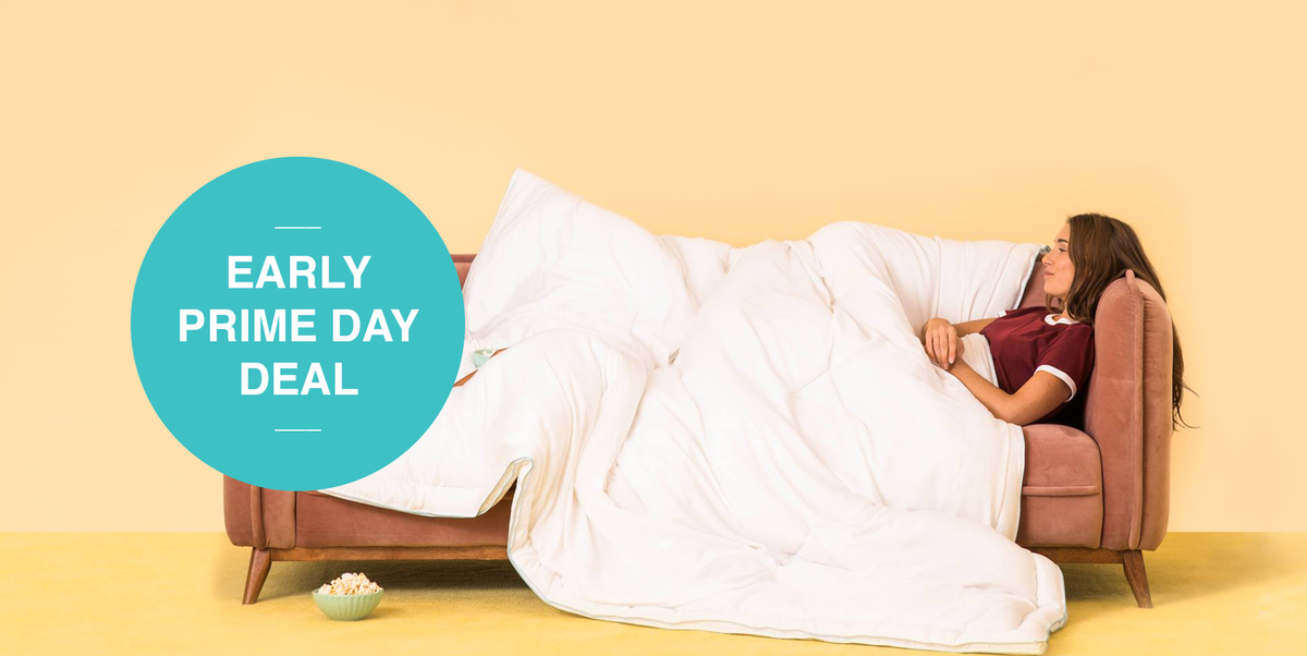 EARLY PRIME DAY DEAL: Get 34% Off a Hypoallergenic Buffy Cloud Comforter on Amazon