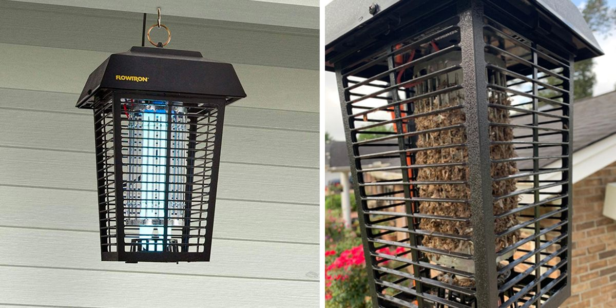 Bug Zapper to get rid of circling flies on the patio