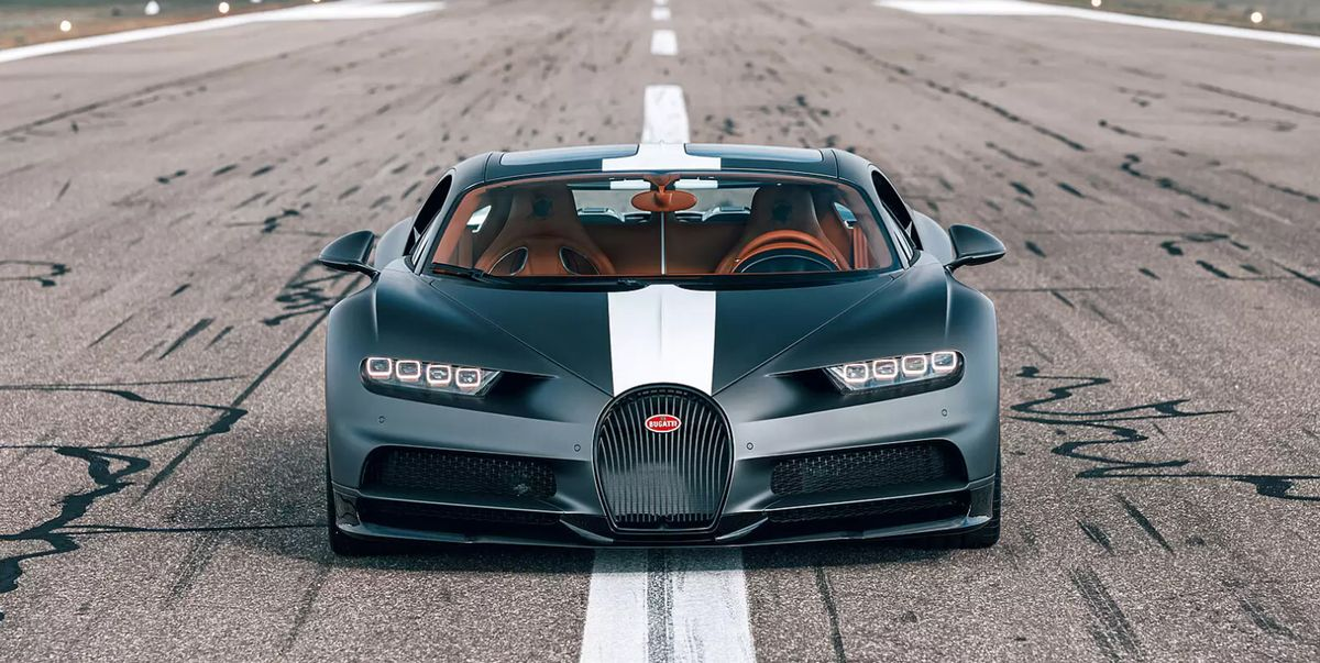Witness the Bugatti Chiron Sport 'Les Legends du Ciel'