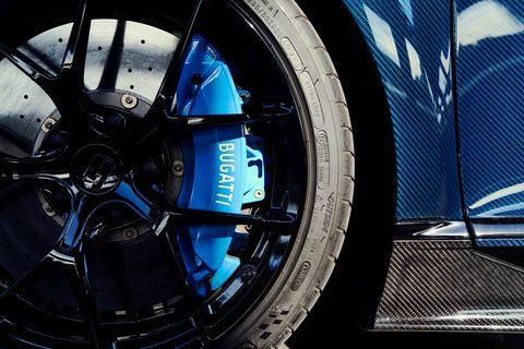 Hệ thống phanh Bugatti Chiron 2020
