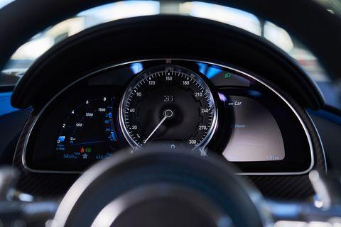 2020 bugatti chiron gauge cluster