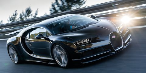 The Bugatti Chiron Can T Max Out Its 310 Mph Speedo Until Someone