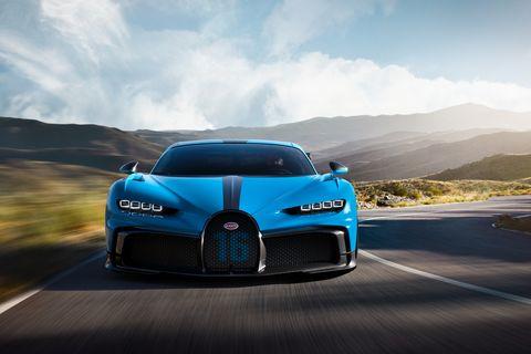 Land vehicle, Vehicle, Car, Sports car, Automotive design, Supercar, Bugatti veyron, Bugatti, Blue, Performance car,