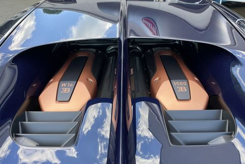 bugatti chiron pur sport blue