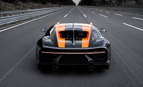 Bugatti Chiron Super Sport 300+ Prototype