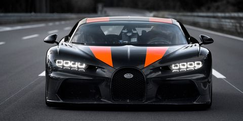 View Photos of the Bugatti Chiron goes 304 MPH, Sets World Record